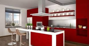 cuisine au milieu de la les différentes formes de hotte de cuisine
