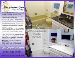 Bathtub Reglaze Or Replace by Tampa Tub Refinishing Refinishing Services 2569 Mulberry St