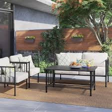 Fernhill Metal Patio Furniture Collection Threshold™ Tar