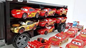 100 Disney Cars Mack Truck Hauler Construction Videos 3 3