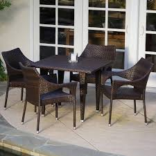 Cliff All-Weather Wicker Patio Dining Set - Seats 4 - Walmart.com Annabelle Outdoor Garden Fniture All Weather Wicker Rattan 10 Home Decators Collection Naples Brown Allweather Amazoncom Luckyermore 4pack Patio Chairs Belham Living Bella Ding Chair Set Of 2 Contemporary 150 Cm Teak Table 6 Shop Havenside Hampton Allweather Grey Round Terrain Tangkula 5 Pcs Resistant Coral Coast Brisbane Open Inspired Bistro Saint Tropez Stackable Whitecraft S6501 By Woodard Sommerwind Wickercom