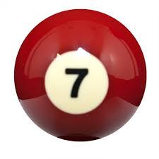 Sterling Replacement Billiard Balls 7
