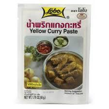 pate de curry jaune lobo 50gr