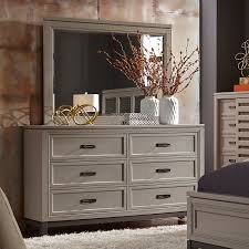 Inexpensive Bedroom Dresser Glass Top Grey Woven Carpet Solid Oak by Humble Abode Furniture