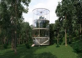 100 Glass House Architecture Tubular Glass House By Aibek Almassov Wraps Around A Full