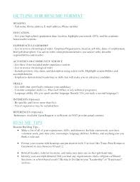How To List Education On Resume Listing Examples Future Template