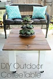 Coffee Tables Best Collection Outdoor Coffeeable Plans Small
