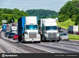 100 Semi Truck Logos Highway Packed Traffic Led Two S Note All Stock