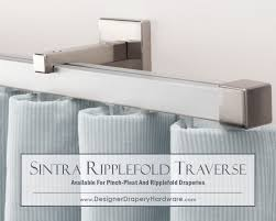 Double Traverse Curtain Rod Center Open by Http Www Designerdraperyhardware Com Decorative Traverse Rods