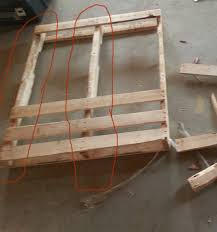 DIY End Tables Using Pallets