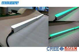 power ip67 rgb color outdoor linear led wall washer light with