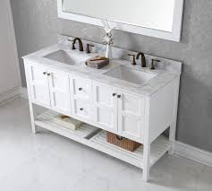 Small Double Sink Vanity by Bathroom Cabinets Double Vanity Or Two Single Vanities White