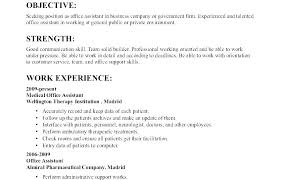 Resume Objective Examples For Administrative Assistant Sample Teacher