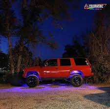 Lighting — Ultimate Body Ledglow 6pc 7 Color Smline Truck Underbody Underglow Smd Led Amazoncom Green Smline Truck Underbody Underglow Colorado Special Editions Trail Boss Midnight Chevrolet 93 S10 Ebay Underglow Pinterest Ebay Diesels Daily On Twitter Huge Sale Going Get Your Aliexpresscom Buy Car Styling 8pcsset Under Light Kit Lvadosierracom Tow Mirrors Installed And Blue Led Lights Awesome Tubes On The Bottom Of A 4 Pcs Universal Jeep 12v Neon Glow Leds The Slush Bus Food Truck Buffalo Ny Youtube Xkglow Xk Silver App Wifi Controlled Undercar Body