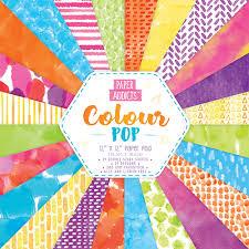 Paper Addicts Colour Pop 12 X Pad