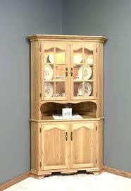 White Kitchen Corner Cabinet Hutch Small Hutches Dining Room