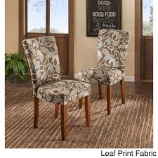 Parson Classic Upholstered Dining Chair (Set Of 2) By Tribecca Home ...