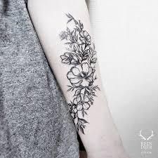 25 Best Inner Forearm Flower Tattoo Designs Images On Pinterest