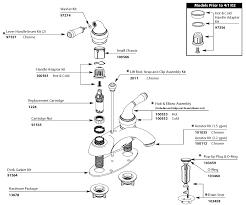 Moen Bathroom Sink Faucets by Kitchen Sink Faucet Parts Diagram Interior Design