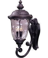 maxim lighting 40424 carriage house vx 13 inch wide 3 light