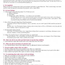 Executive Summary Template Business Plan Sample Real Estate Free For