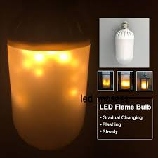 brand new design led candle light bulb l flickering