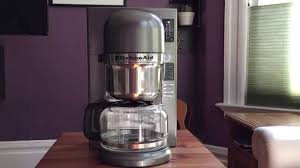 Coffee Maker Review KitchenAid Pour Over Brewer