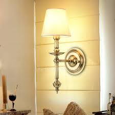 one light brass theater wall sconces with country style