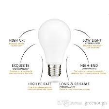 a19 a60 edison led bulb lights ac85 265v led globe bulb l