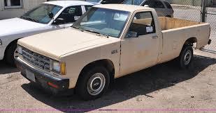 100 1986 Chevy Trucks For Sale Chevrolet S10 Pickup Truck Item G6064 SOLD October
