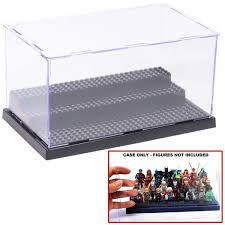 Wow It Is Cool Acrylic Display Case Box Show For Lego Minifigure With 3