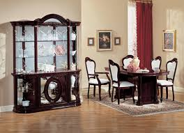 Modern Dining Room Sets With China Cabinet by Dining Room Contemporary Dining Room Sets With Wooden Flooring