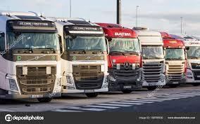 100 Overnight Trucking Truck Overnight Parking Stock Editorial Photo FotoVDW 189785530