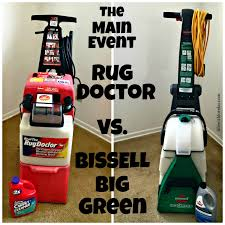 carpet cleaner bissell vs rug doctor with lorelai