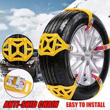 100 Snow Chains For Trucks Car Tire Anti Skip Winter Mud Sand Roadway Cars Wheels