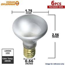 buy sylvania 25w 120v small base white light bulbs or vanity