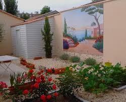 pour mur exterieur pour mur exterieur 6 toile trompe oeil exterieur jpg