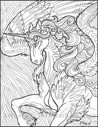 Hard Unicorn Coloring Pages 20 Free Printable For Adults