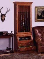 Free Wooden Gun Cabinet Plans by Plans For Gun Cabinets Free Woodworking Plans And Projects