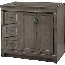 36 Inch Bathroom Vanity Without Top by Bathroom Storage Accara 36 Bathroom Vanity With Drawers 36