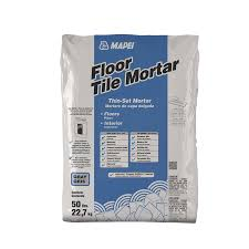 Thinset For Porcelain Tile On Concrete by Shop Mapei Floor Tile 50 Lb Gray Powder Thinset Mortar At Lowes Com
