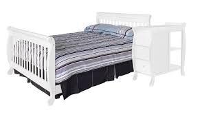 Davinci Kalani Combo Dresser Honey Oak by Amazon Com Davinci Twin Full Size Bed Conversion Kit White