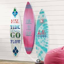 Decorative Surfboard Wall Art by 3 D Surfboard Art Pbteen