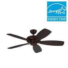 Ceiling Fan Wobbles Without Blades by Monte Carlo Designer Max 52 In Roman Bronze Ceiling Fan 5dm52rb