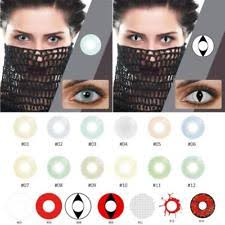 Halloween Contact Lenses Amazon by Colored Contact Lenses Ebay