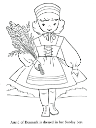 Coloring Pages Walt Disney World Colouring Printable Little Kids Around The Flags