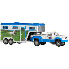 Truck And Gooseneck Trailer Stablemates Playset - Home Hardware John Deere Toys Monster Treads Pickup Hauler With Horse Trailer At Breyer Stablemates Animal Rescue Truck The Play Room 5356 Pickup And Gooseneck Ebay Giddy Up Go 701736 Dually Identify Your Accsories 132 Model By Loading Mini Whinnies Horses In Ves Car Drama At Show