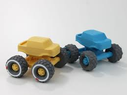 100 Mini Monster Truck With Suspension By Jakejake Thingiverse