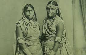 Trinidadian Postcard Of Indentured Women