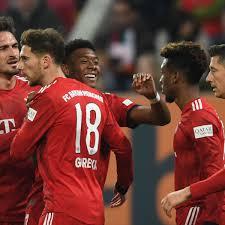 Bundesliga FC Bayern Trotz Sieg Bei FC Augsburg In Sorge